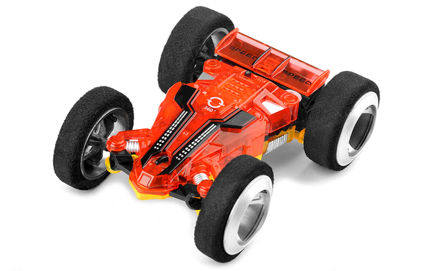 Цена Машинка микро р/у 1:32 WL Toys 2308 Double-faced двусторонняя (красный)