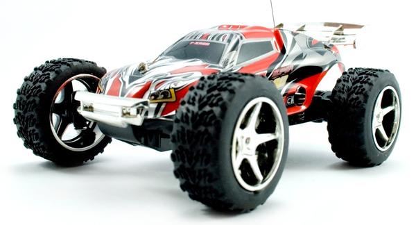 Цена Машинка микро р/у 1:32 WL Toys Speed Racing скоростная (красный)