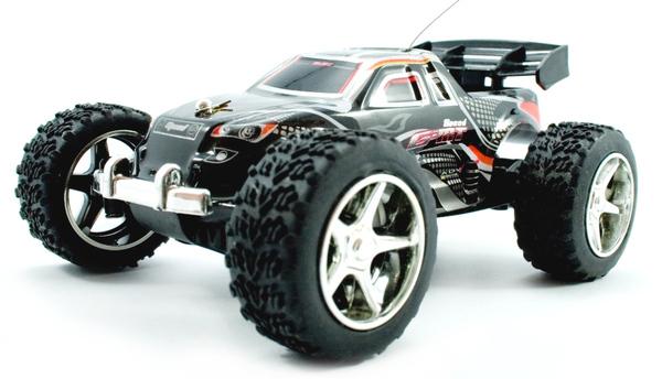 Машинка микро р/у 1:32 WL Toys Speed Racing скоростная (черный) фото видео изображение