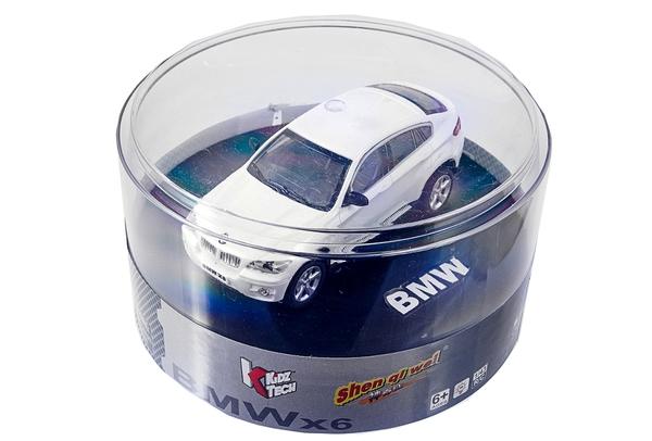 Машинка микро р/у 1:43 лиценз. BMW X6 (белый) фото видео изображение