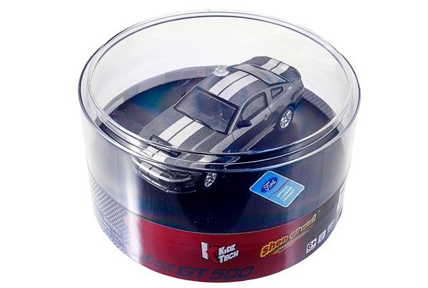 Машинка микро р/у 1:43 лиценз. Ford GT500 (серый) фото видео изображение