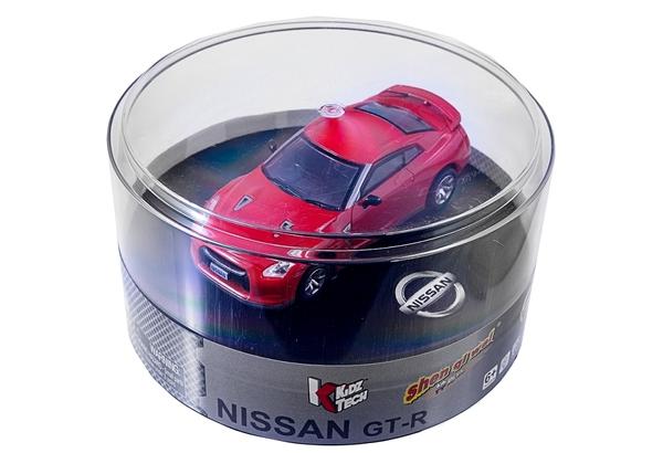Машинка микро р/у 1:43 лиценз. Nissan GT-R (красный) фото видео изображение