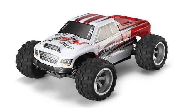 Автомодель монстр 1:18 WL Toys A979-B 4WD 70км/час фото видео изображение