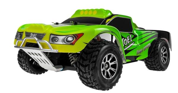 Автомодель шорт-корс 1:18 WL Toys A969 4WD 25км/час (зеленый) фото видео изображение
