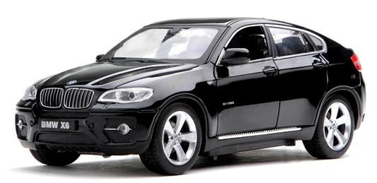 Машинка р/у 1:24 Meizhi лиценз. BMW X6 металлическая (черный) фото видео изображение