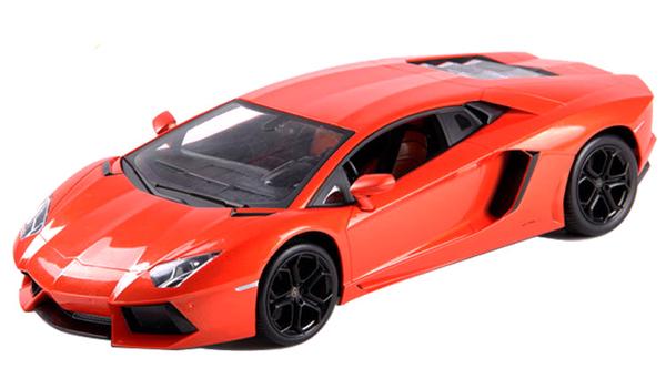 Машинка р/у 1:24 Meizhi лиценз. Lamborghini LP700 металлическая (оранжевый) фото видео изображение