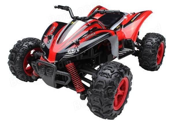 Машинка р/у 1:24 Subotech CoCo Квадроцикл 4WD 35 км/час (красный) фото видео изображение