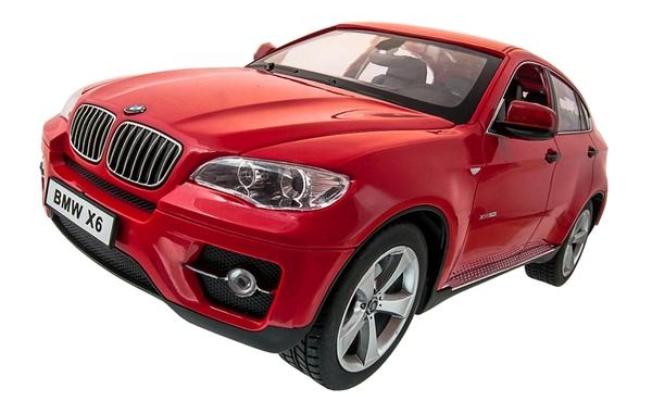 Машинка р/у 1:14 Meizhi лиценз. BMW X6 (красный) фото видео изображение