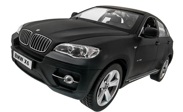 Машинка р/у 1:14 Meizhi лиценз. BMW X6 (черный) фото видео изображение