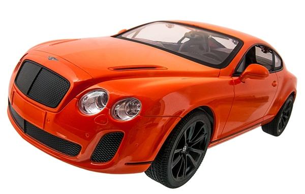 Машинка р/у 1:14 Meizhi лиценз. Bentley Coupe (оранжевый) фото видео изображение