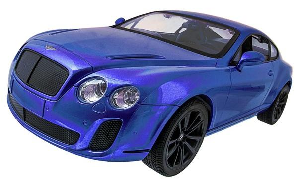Машинка р/у 1:14 Meizhi лиценз. Bentley Coupe (синий) фото видео изображение