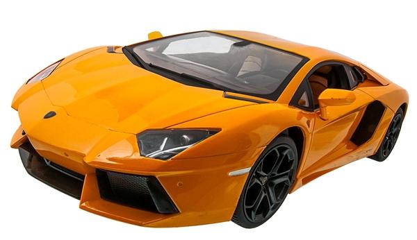 Машинка р/у 1:14 Meizhi лиценз. Lamborghini LP700 (желтый) фото видео изображение