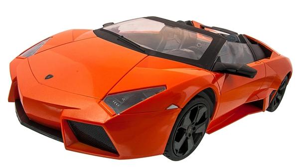 Машинка р/у 1:14 Meizhi лиценз. Lamborghini Reventon Roadster (оранжевый) фото видео изображение