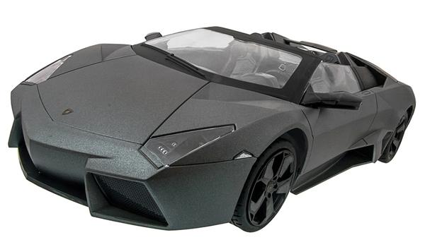 Машинка р/у 1:14 Meizhi лиценз. Lamborghini Reventon Roadster (серый) фото видео изображение