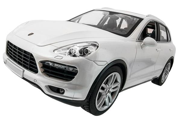 фото Машинка р/у 1:14 Meizhi лиценз. Porsche Cayenne (белый) видео отзывы