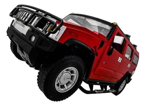 Машинка р/у 1:10 Meizhi лиценз. Hummer H2 (красный) фото видео изображение