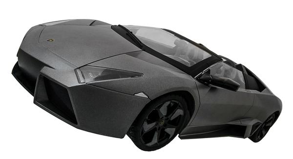 Машинка р/у 1:10 Meizhi лиценз. Lamborghini Reventon (серый) фото видео изображение