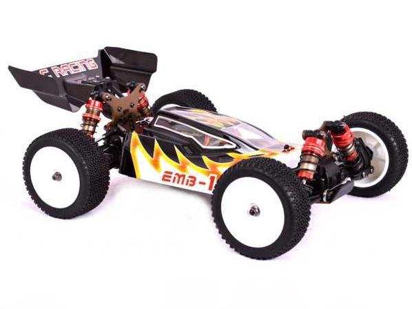 Цена Багги 1:14 LC Racing 1H бесколлекторная (черный)