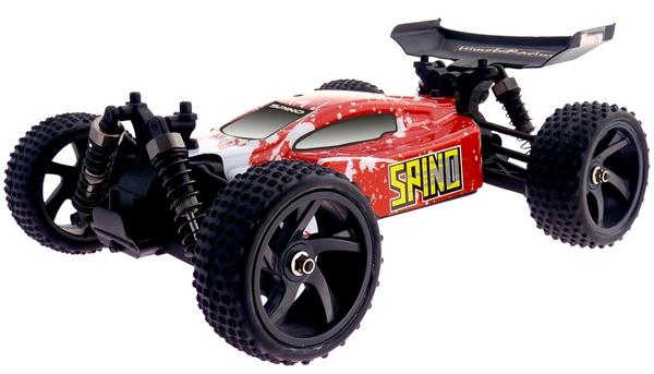Цена Багги 1:18 Himoto Spino E18XB Brushed (красный)