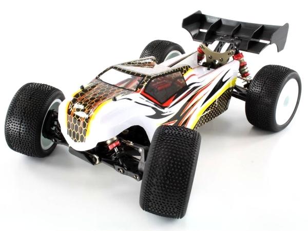 Трагги 1:14 LC Racing TGH бесколлекторная (белый) фото видео изображение