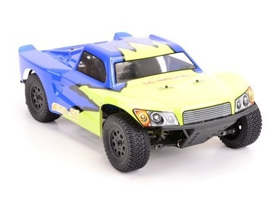 Шорт 1:14 LC Racing SCH бесколлекторный (синий) фото видео изображение