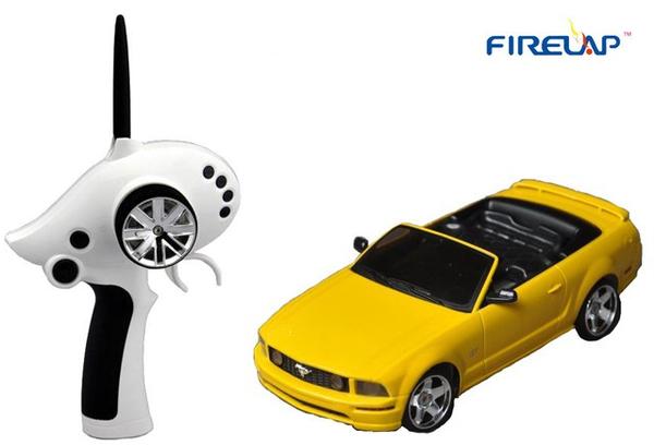 фото Автомодель р/у 1:28 Firelap IW02M-A Ford Mustang 2WD (желтый) видео отзывы