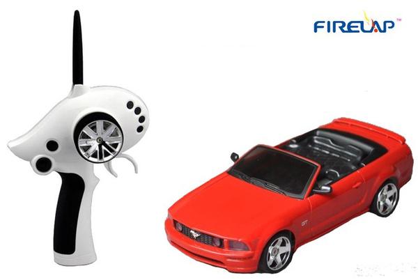 Автомодель р/у 1:28 Firelap IW02M-A Ford Mustang 2WD (красный) фото видео изображение