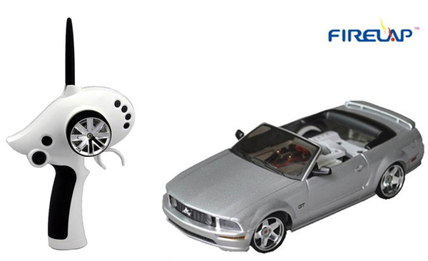 Автомодель р/у 1:28 Firelap IW02M-A Ford Mustang 2WD (серый) фото видео изображение