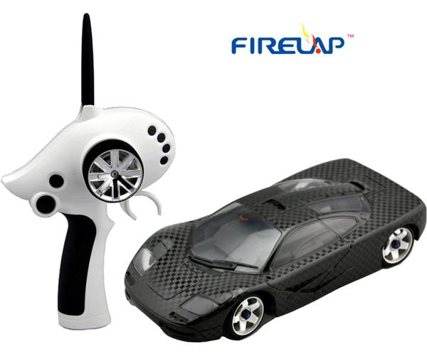 Автомодель р/у 1:28 Firelap IW02M-A Mclaren 2WD (карбон) фото видео изображение