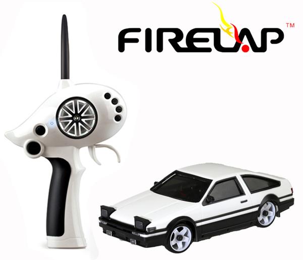 Автомодель р/у 1:28 Firelap IW02M-A Toyota AE86 2WD (белый) фото видео изображение