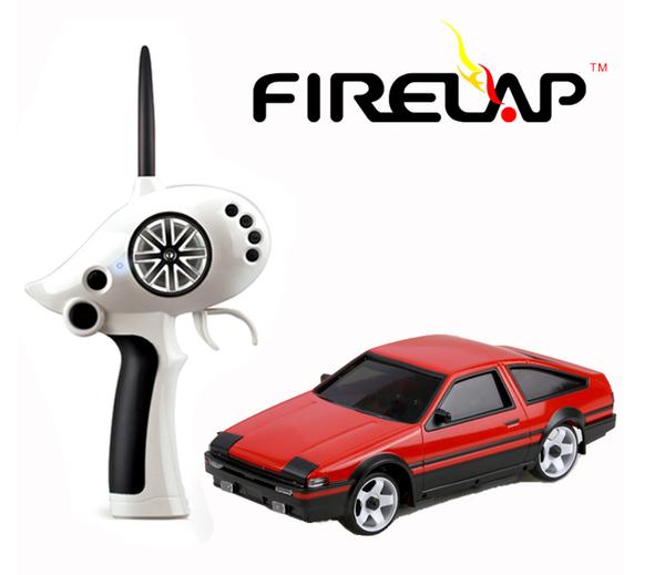 Автомодель р/у 1:28 Firelap IW02M-A Toyota AE86 2WD (красный) фото видео изображение