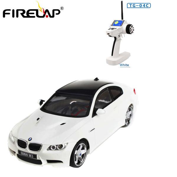 Автомодель р/у 1:28 Firelap IW04M BMW M3 4WD (белый) фото видео изображение