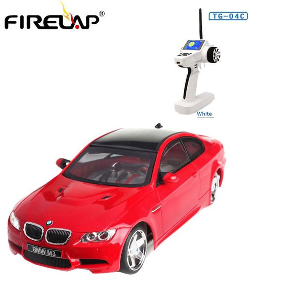 Автомодель р/у 1:28 Firelap IW04M BMW M3 4WD (красный) фото видео изображение