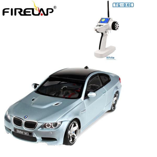 Автомодель р/у 1:28 Firelap IW04M BMW M3 4WD (серый) фото видео изображение