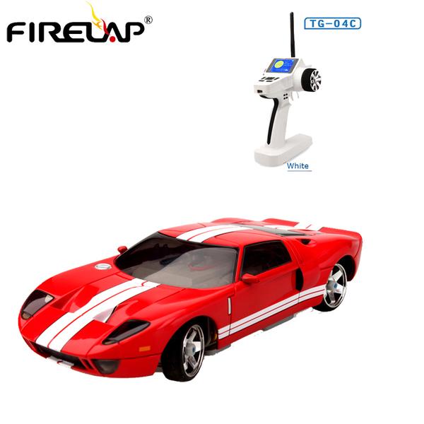 Автомодель р/у 1:28 Firelap IW04M Ford GT 4WD (красный) фото видео изображение