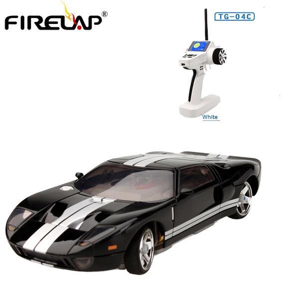Автомодель р/у 1:28 Firelap IW04M Ford GT 4WD (черный) фото видео изображение