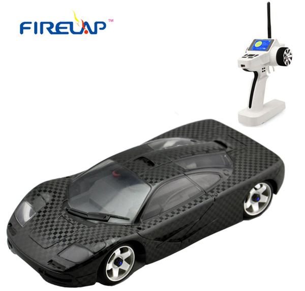 Автомодель р/у 1:28 Firelap IW04M Mclaren 4WD (карбон) фото видео изображение