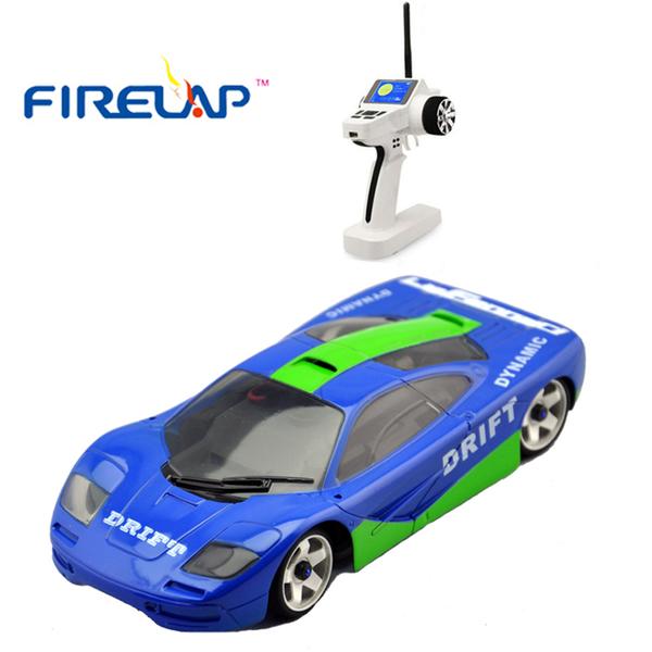 Автомодель р/у 1:28 Firelap IW04M Mclaren 4WD (синий) фото видео изображение