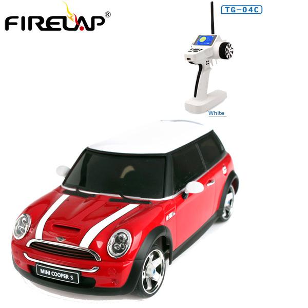 фото Автомодель р/у 1:28 Firelap IW04M Mini Cooper 4WD (красный) видео отзывы