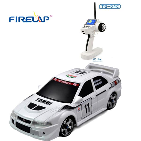 фото Автомодель р/у 1:28 Firelap IW04M Mitsubishi EVO 4WD (белый) видео отзывы
