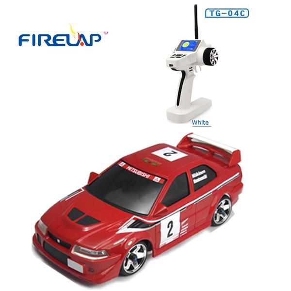 фото Автомодель р/у 1:28 Firelap IW04M Mitsubishi EVO 4WD (красный) видео отзывы