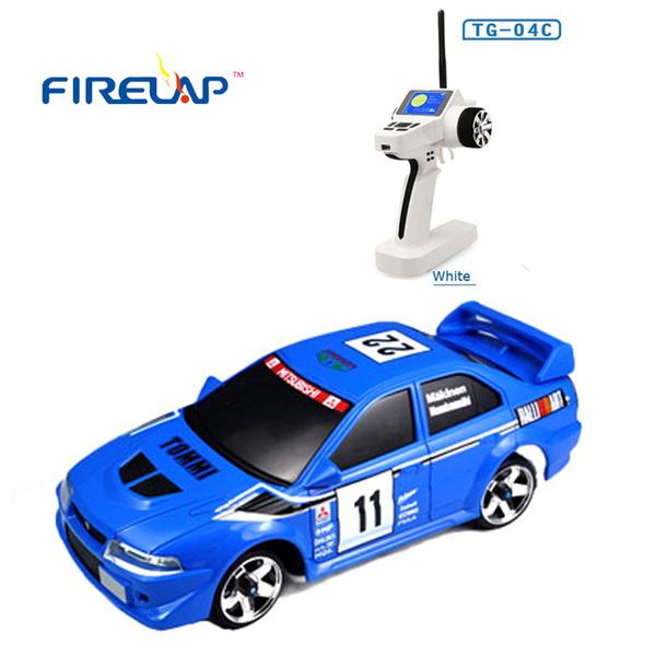 фото Автомодель р/у 1:28 Firelap IW04M Mitsubishi EVO 4WD (синий) видео отзывы