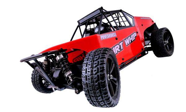Багги 1:10 Himoto Dirt Whip E10DBL Brushless (красный) фото видео изображение