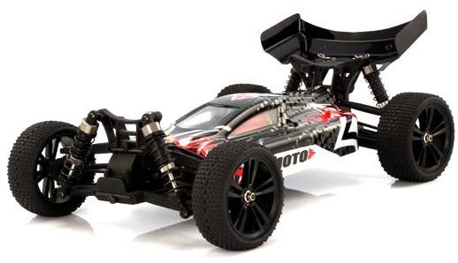 Багги 1:10 Himoto Tanto E10XB Brushed (черный) фото видео изображение