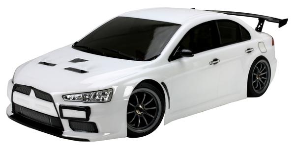 Шоссейная 1:10 Team Magic E4JR Mitsubishi Evolution X (белый) фото видео изображение