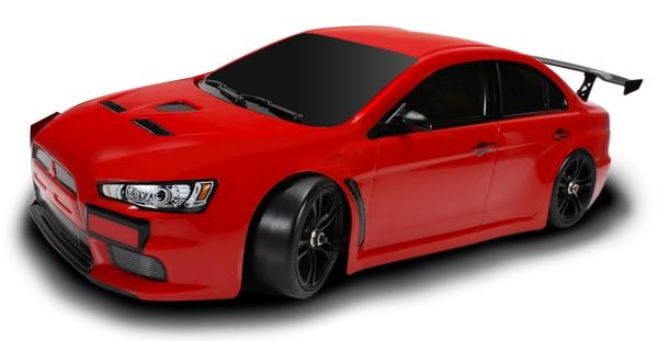 Шоссейная 1:10 Team Magic E4JR Mitsubishi Evolution X (красный) фото видео изображение