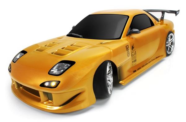 Дрифт 1:10 Team Magic E4D Mazda RX-7 (золотой) фото видео изображение