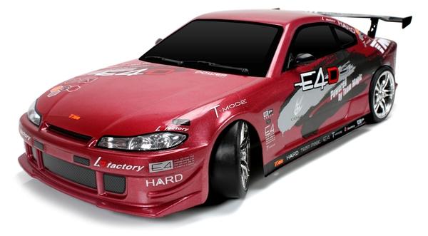 Дрифт 1:10 Team Magic E4D Nissan S15 (красный) фото видео изображение