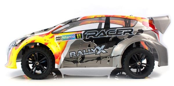 Ралли 1:10 Himoto RallyX E10XRL (серый) фото видео изображение