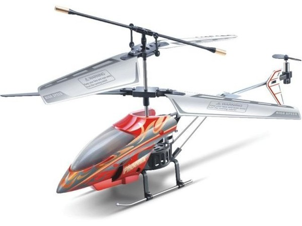 Вертолёт 3-к микро и/к Phantom 6010 (красный) фото видео изображение